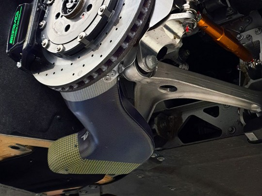 AMG Brake Ducts Rear Axle