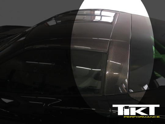 TIKT Carbon Fiber B-pillar for C6