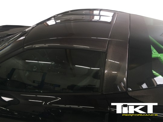 TIKT carbon fiber roof panel for C6