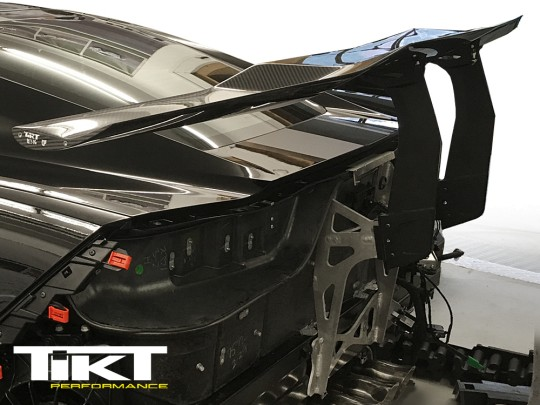 TIKT carbon fiber rear wing for C7 Z06 / ZR1