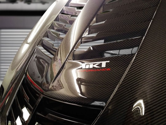 TIKT carbon fiber hood for C7 Z06