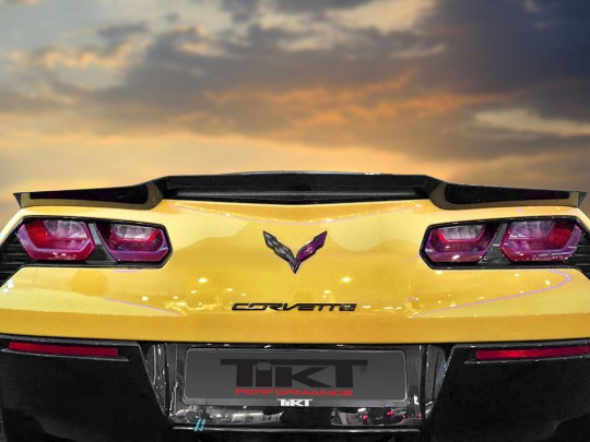 TIKT carbon fiber rear spoiler for C7 Z06