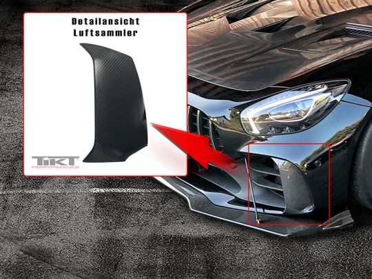 Carbon Fiber air collector for AMG GT R