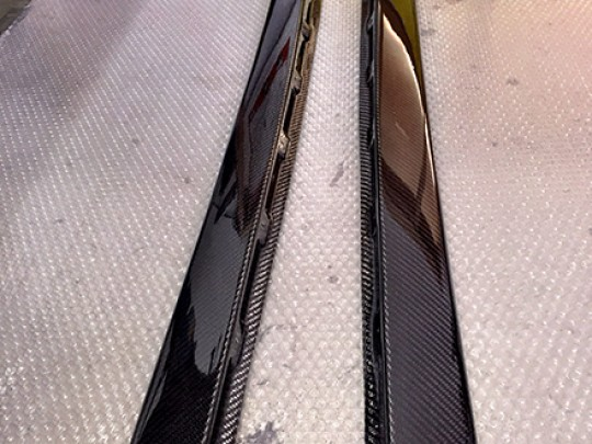 TIKT side skirts C6