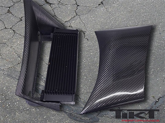 TIKT Side blades (gearbox cooling openings) for C6