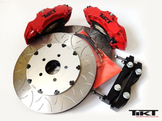 TIKT Performance GT-R brake for C6 Z06 and ZR1 (front axle)